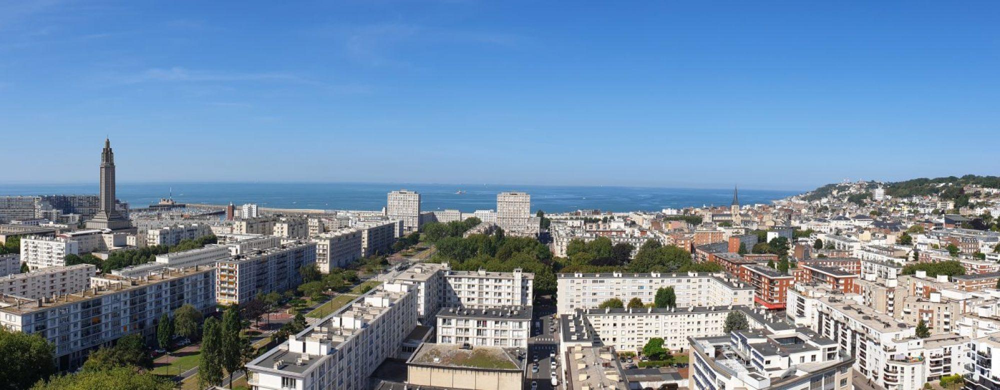 Panoramique vers Porte Océane