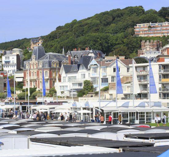 Plage du Havre en vacance d'été