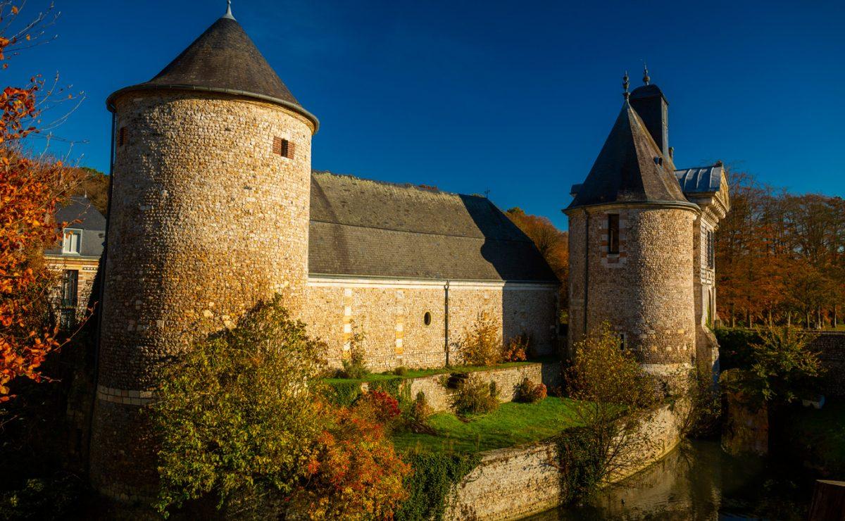 Le chateau de Saint-Martin du Bec
