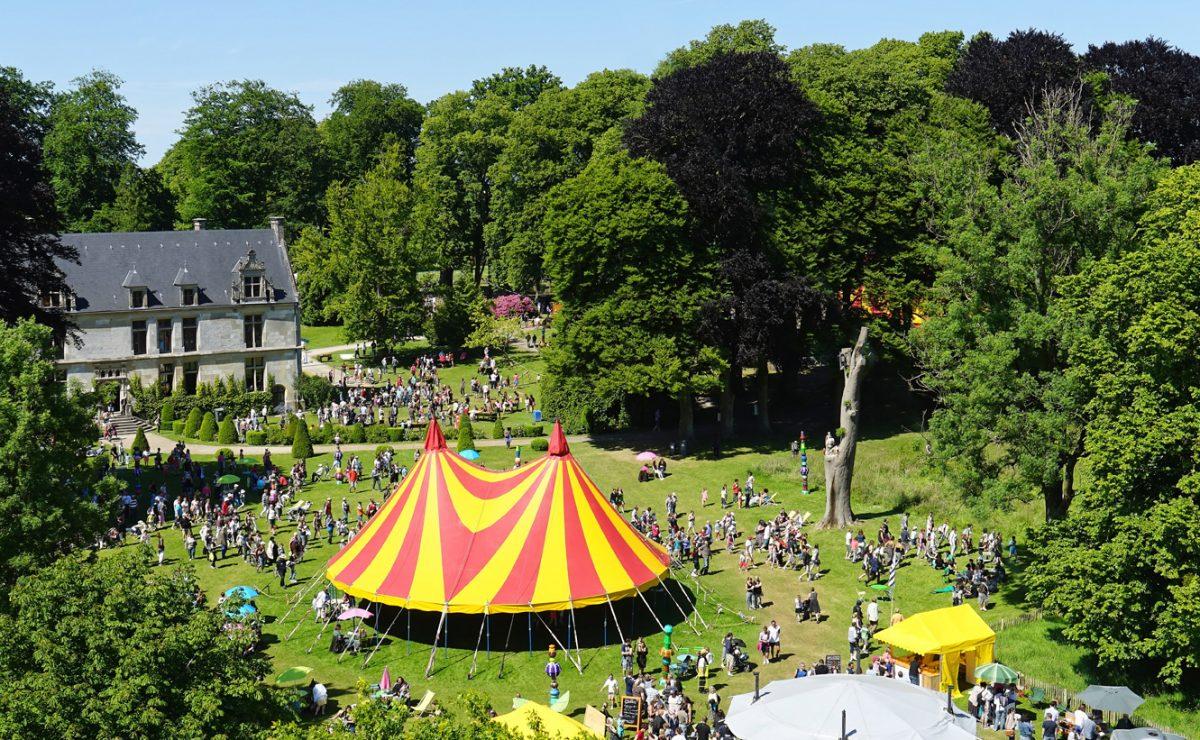 Le parc du château de Gromesnil