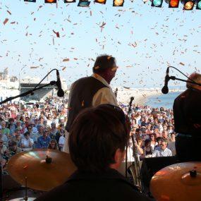 Festival de musique jazz au bord de la mer